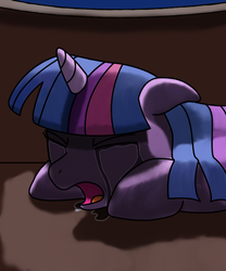 Profoundly sad twilight by Jurassic-Dragon