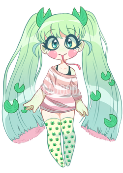 Lilypad Cutie Auction (CLOSED) by Maladoodles