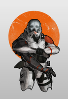 Commando trooper by The-Red-Right-Hand