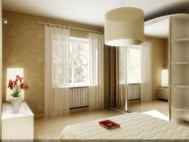 Modern 'old style' bedroom by rOSTyk