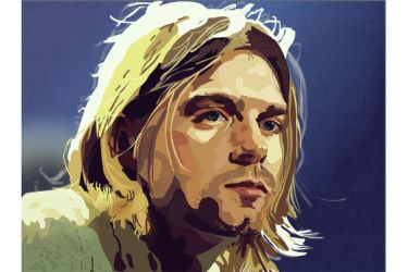 Kurt Cobain by dustMights