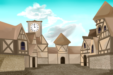 Old town Background by DerpInc