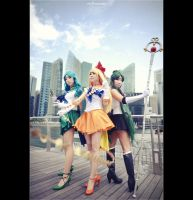 Sailor Moon - The Guardians by vaxzone