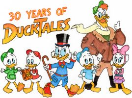30 Years of DuckTales by nintendomaximus