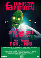 Film Animation Industry Preview (MMU) by Haizeel