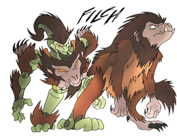 Filch- Beast Wars Future by NickOnPlanetRipple