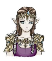 The Princess of Hyrule by Aselea