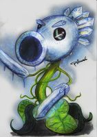 Ice Peashooter by Fouad-z
