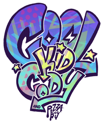 Cool Kid Cody and Pizza Boy! by GreenMangos