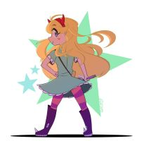 Star Butterfly by dahhez