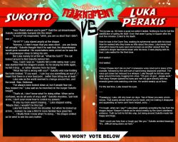 Tournament Match 41: Sukotto vs Luka Peraxis by Dreamkeepers
