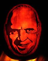 Hannibal Lecter Pumpkin by JRSly