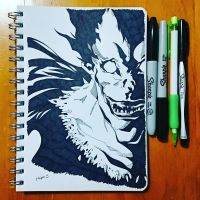 Inktober8:Crooked by j-kyuu