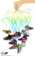 Nike Dunks by FLIPxoutx