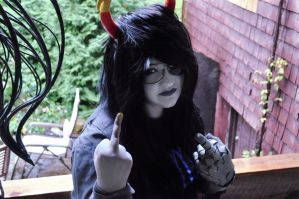 AG: Fuck Off by ForeverAloneCosplay