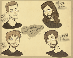 Imagine Dragons. by Crystal-beastie