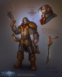 Greymane concept by FirstKeeper