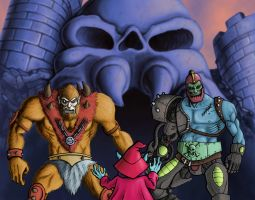 BeastMan Orco e Trap Jaw by Sturby