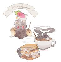 Marshadow Marshmallow Treats