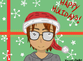 Happy Holidays! (1st time doing digital art) by Vincent-FineArt