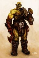 Orc by Joe-Burns