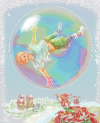 Bubble (for the August Tiny Things Contest) by bodnardio