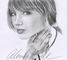 Taylor Swift RED by aleexart