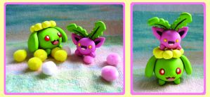 Playtime: Hoppip + Skiploom