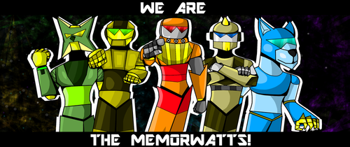 THE MEMORWATTS by SCR3-4-ME