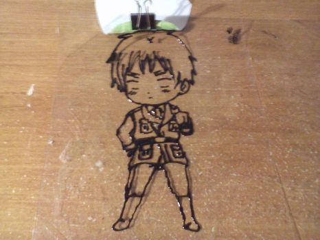 APH England/UK Glass Paint Lineart WIP by Ghosi
