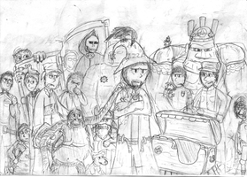 Discworld characters by willmeister42