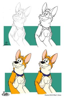 Form sketch to Finish: Duncan by Slasher12