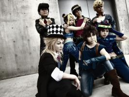 JoJo's Bizarre Adventure by stainlessproduct