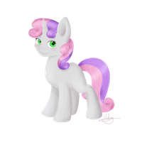 Sweetie Belle by Violyre