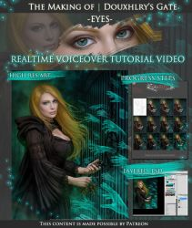 Douxhlry's Gate: EYES Voiceover Video Tutorial by mckadesinsanity