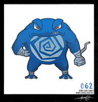 Poliwrath!  Pokemon One a Day!