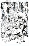 Red Sonja cover -INKs