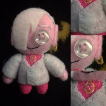 Vanture Brothers - Pete White Plush by Jack-O-AllTrades