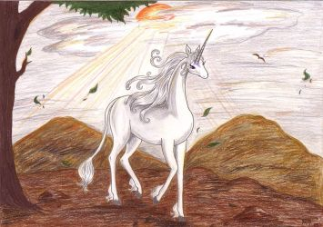 The last Unicorn - On my way by Neri-chan
