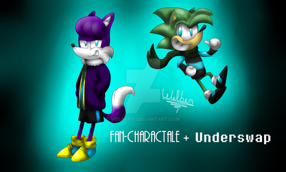 (AU Mix) Fan-characSwap (Underswap + My AU) by Welber13