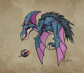 Porcudactyl by Monster-Man-08