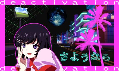My Anime Vaporwave Wallpaper #09 by iamthebest052