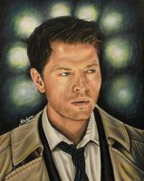 Castiel by brailynne