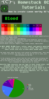 Homestuck OC Tutorial part 1- Blood by The-Infamous-TCT