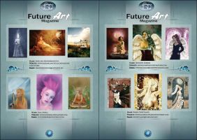 Small Features Example by Future-Art-Magazine
