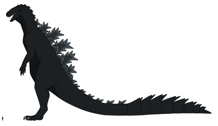 HT Kaiju Redesigns: Godzilla 2018 by HewyToonmore