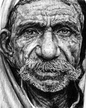 Old man by KingVahagn