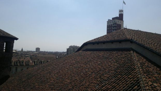 Roofs 12 by ManicHysteriaStock