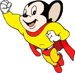 Mighty Mouse by SubliminalXIII