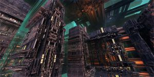 Atmospheric Conversion Plant 2 by MarkJayBee
